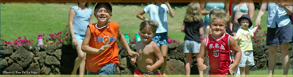 Traditional Hawaiian Games - Koloa Plantation Days, Kauai, Hawaii