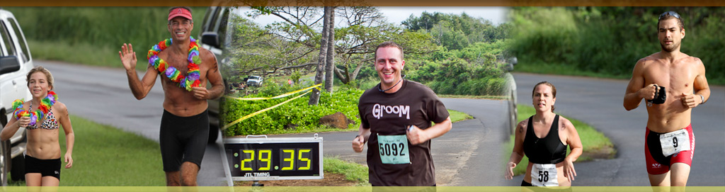 Family Fun Run/Walk - 5K, 10K, 10 Mile + 1 Mile Keiki Run - Koloa Plantation Days, Kauai, Hawaii