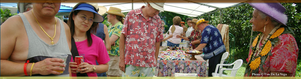 Food and Shopping events at Koloa Plantation Days, Kauai, Hawaii